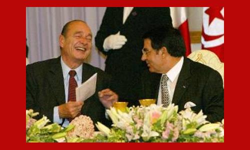 Chirac et Ben Ali
