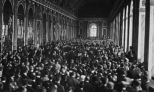 Traité de Versailles, 1918