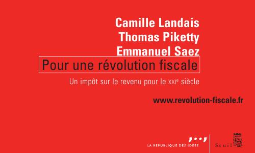 Pour une révolution fiscale, éditions du Seuil