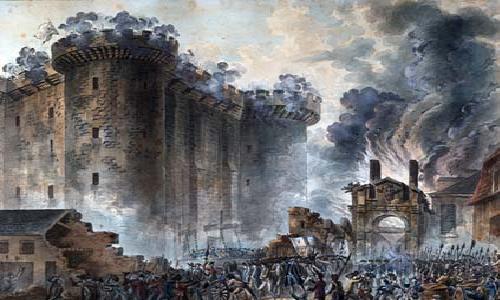 Prise de la Bastille, 1789