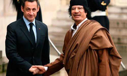 Khadafi rencontre Sarkozy