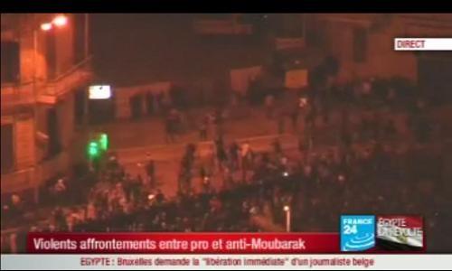 Affrontements au Caire