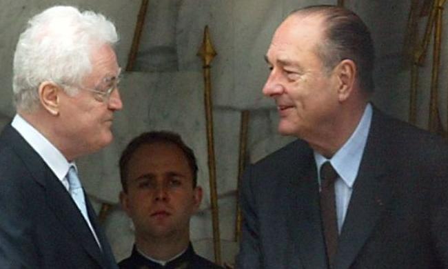 Jacques Chirac et Lionel Jospin