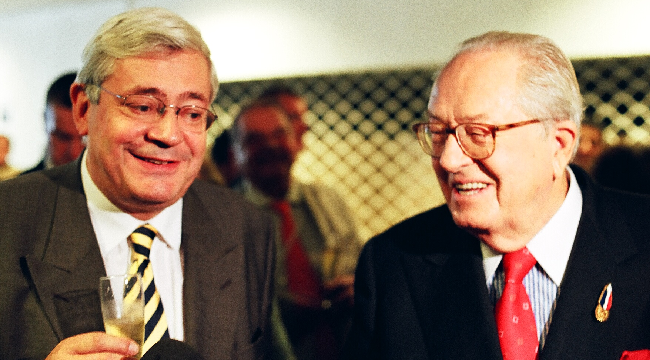 Bruno Gollnisch et Jean-Marie Le Pen