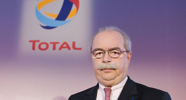 Christophe de Margerie, PDG Total