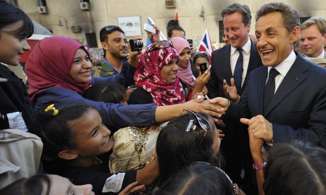 Sarkozy sauve la Libye
