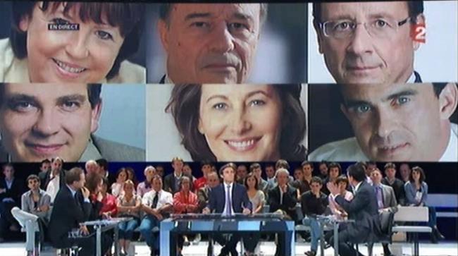 Candidats à la primaire PS