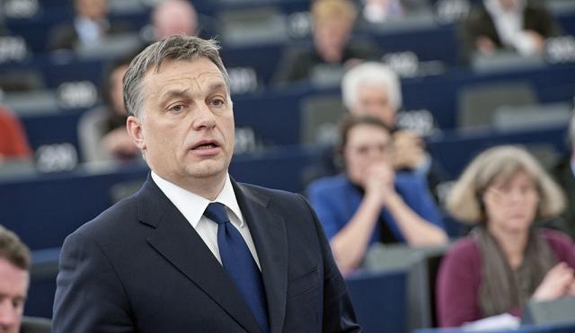 Viktor Orban au Parlement européen