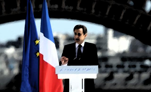 Sarkozy au Trocadéro