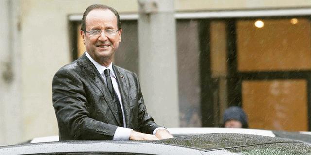 Hollande sous la pluie